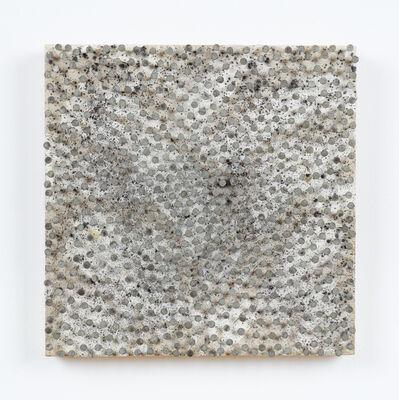 Günther Uecker, 'Kleine Malerische Handlung Kreis Kreise', 1983