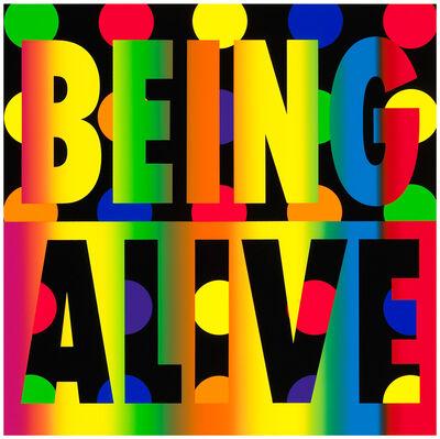 Deborah Kass, 'Being Alive', 2012