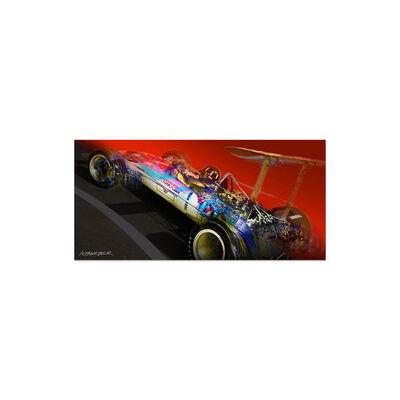 Andrew Barber, 'Graham Hill Gold Leaf Lotus Formula 1| Automotive | Car', 2018