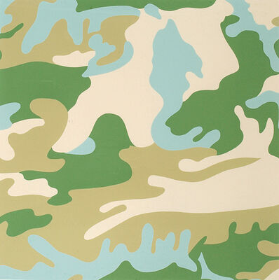 Andy Warhol, 'Camouflage (407)', 1986