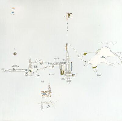 Gianfranco Baruchello, 'Sostenere l'acrocoro: un hobby relativamente recente', 1971