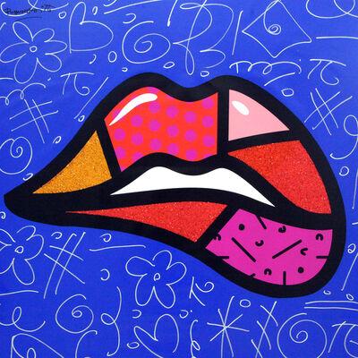 Romero Britto, 'Lipstick', 2018