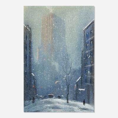 Leon Dolice, 'New York City in Winter'