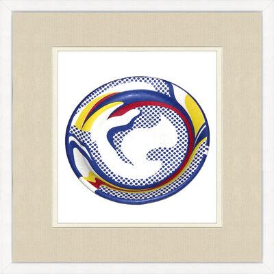 Roy Lichtenstein, 'Paper Plate', 1969