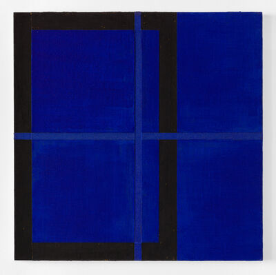 Harvey Quaytman, ' Azurite', 1990