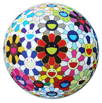 Takashi Murakami, 'Flower Ball (Lots of Colors) ', 2013