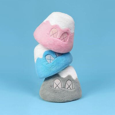 "KAWS, '""HOLIDAY JAPAN, MOUNT FIJI"" PLUSH SET OF THREE', 2019"