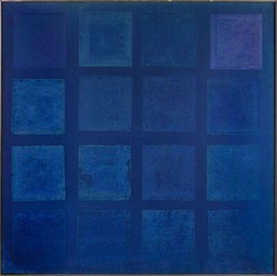 Yvonne Thomas, 'Blue Painting I', 1964
