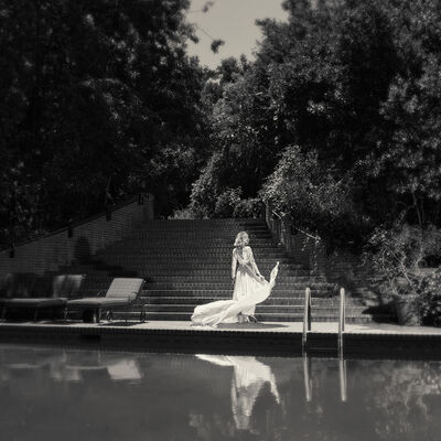 Tyler Shields, 'Marilyn's Pool', ca. 2019