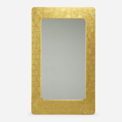 Phillip Lloyd Powell, 'custom wall mirror', c. 1970