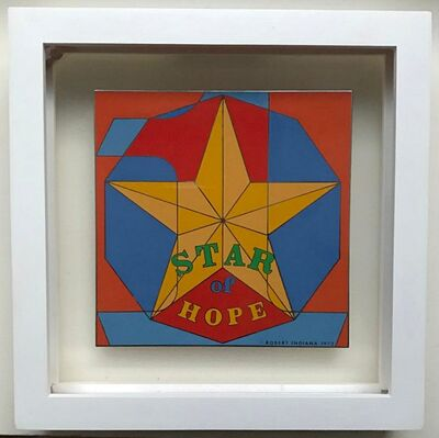 Robert Indiana, 'Star of Hope (Hand Signed)', 1972