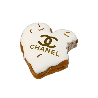 "Eva Post Ruben Verheggen, '""HEART DONUT"" Chanel Gold', 2019"
