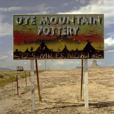 Steve Fitch, 'Plywood Sign South of Cortez, CO July 21', 2007