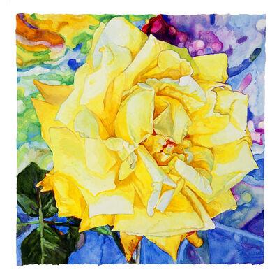 Joseph Raffael, 'Vincent's Rose', 2017
