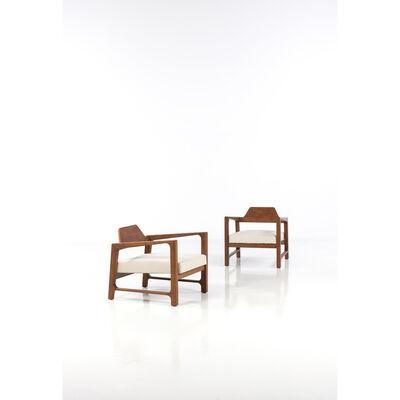 Harvey Probber, 'Pair Of Armchairs', 1960