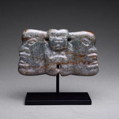 Mexico, Olmec, 1200-300 BC, 'Olmec Jade Pectoral Amulet', ca. 900 BC to 500 BC