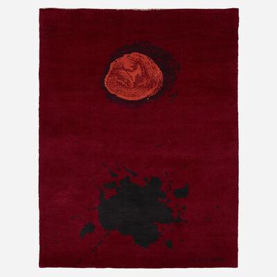 After Adolph Gottlieb, 'Burst pile carpet', c. 1970