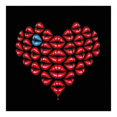 Otto Schade, 'Love Kiss Turquoise', N/A
