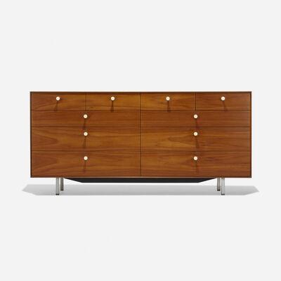 George Nelson & Associates, 'Thin Edge cabinet, model 5723', 1952