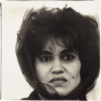Diane Arbus, 'Puerto Rican Woman with a Beauty Mark, NYC', 1965