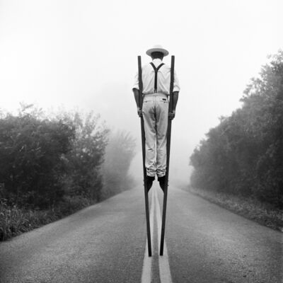 Rodney Smith, 'Don on Stilts No. 3, Monkton Maryland', 1999