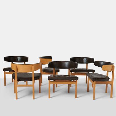 Börge Mogensen, 'Set of Six Borge Mogensen Dining Chairs', 1962