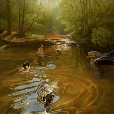 David Molesky, 'Dog Hollow - oil on linen ', 2018