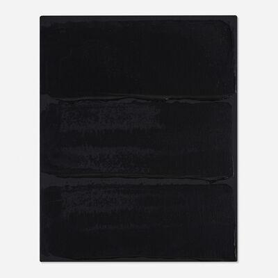 Bernard Aubertin, 'Noir Horizontal', 2014