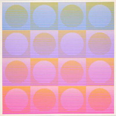 Julian Stanczak, 'Aerial', 1971