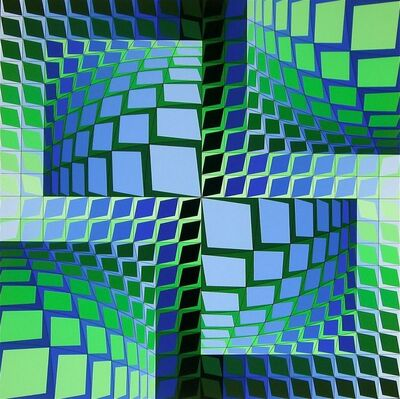 Victor Vasarely, 'Thez', 1982
