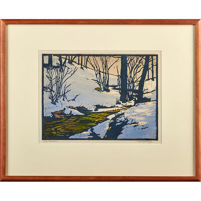"William S. Rice, '""The Thaw,"" California', ca. 1920"
