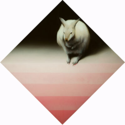Sam Leach, 'Wallaby with inverted pyramid', 2014