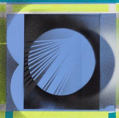 Nola Zirin, 'Blue Eclipse', 2017