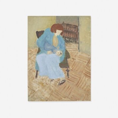 Milton Avery, 'Young Mother', 1934