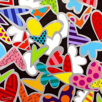 Romero Britto, 'Love You So Much (Ed. No 0005)', 2019