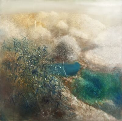 Li Rui 李瑞, 'The wind drives the clouds abundant leaves and deep roots 风动云追根深叶茂', 2014-2015