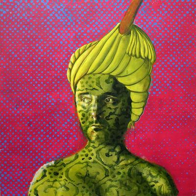 Kaveh Irani, 'Camouflage Man CMYK', 2011