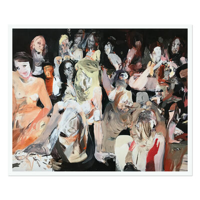 Cecily Brown, 'All the Nightmares Came Today', 2019