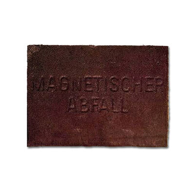 Joseph Beuys, 'Magnetischer Abfall (Magnetic Garbage)', 1975