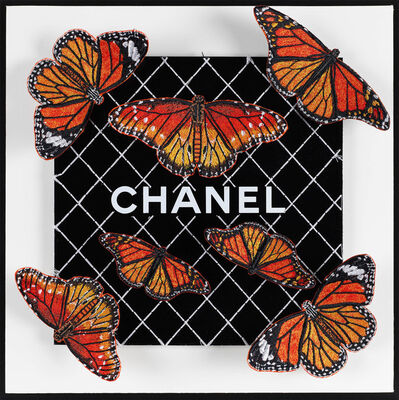 Stephen Wilson, 'Chanel Orange Flutter', 1096