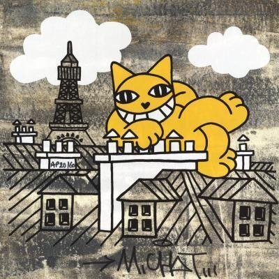 M. Chat, 'M. Chat Fait le Mur', ca. 2020