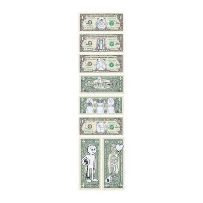 """KAI, '""""Exchange Rate"""" 8 Bill Series', 2019"""