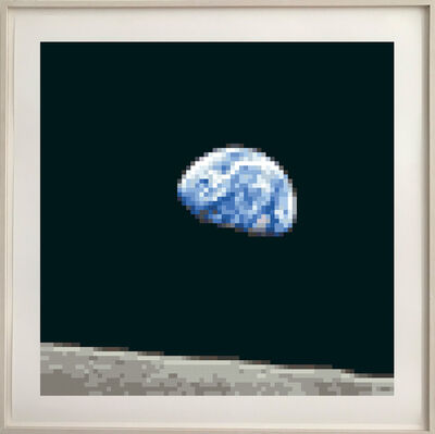 Achim Mohné, '0,0064 Megapixel - Planet Earth Is Blue And There Is Nothing I Can't Do ', 2017