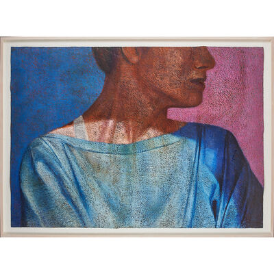 Susan Moore, 'Untitled (woman in profile) (framed)'