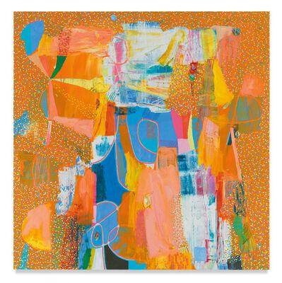 Tomory Dodge, 'Orange Figure', 2018