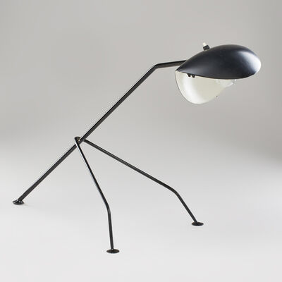 Style of Serge Mouille, 'Desk lamp on tripod base', ca. 1950s/60s