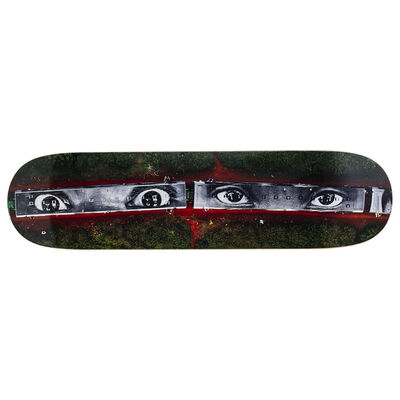 JR, '28 MILLIMÈTRES... Skateboard Deck', 2019