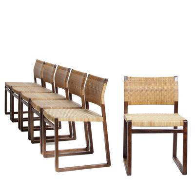 Börge Mogensen, 'Set of 6 dining chairs', 1957