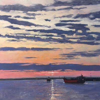 Billy Solitario, 'Cadmium and Crimson Sky'
