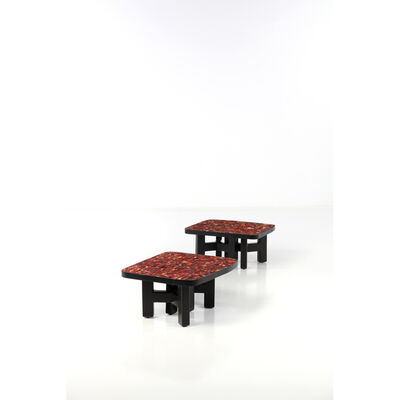Ado Chale, 'Pair of coffee tables', circa 1980